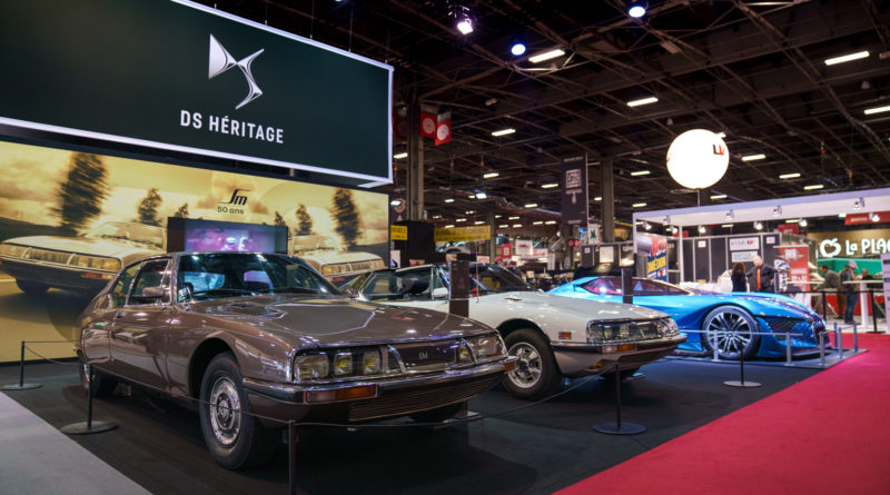 Les photos du stand DS Automobiles à Rétromobile